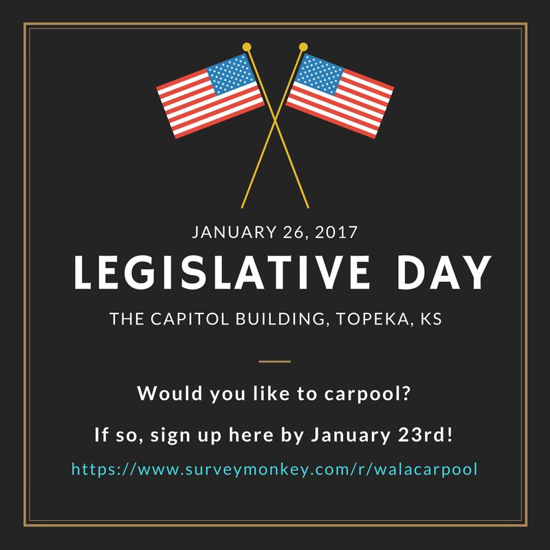 Legislative Day carpool info